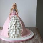 Barbie prinsessekake