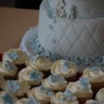Cupcakes til barnedåp
