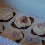Cupcakes til dåp