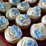 Vaniljecupcakes til dåp