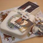 Konfirmasjonskake Justin Bieber kake
