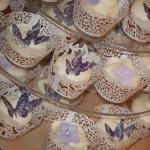 Sommerfugl cupcakes